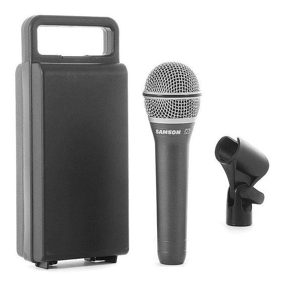 Microfone Samson Q7 Profissional Dinâmico Supercardióide