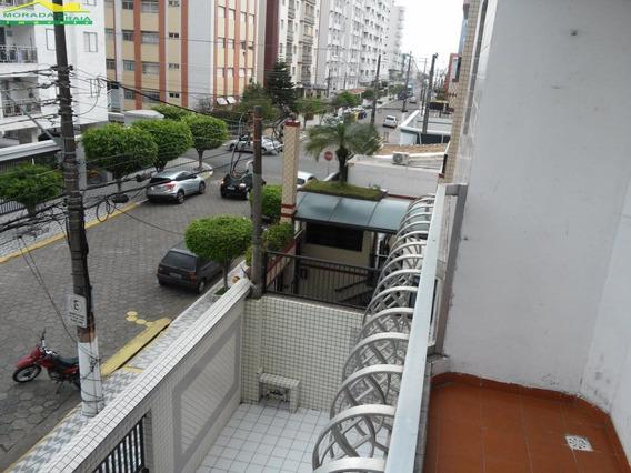 Apartamento De 02 Dormitórios Grandes Frente Pra Rua No Canto Do Forte Em Praia Grande. - Mp9955