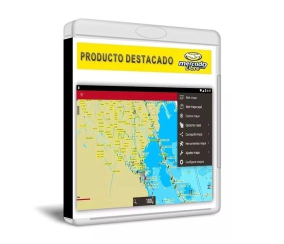 Mapa Nautico O Carta Nautica Delta Rio De La Plata + Rutas Y Waypoint P/ Celular Tablet Android Gps Envio Gratis Al @