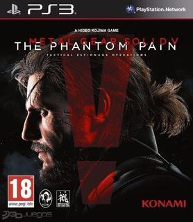 Metal Gear Solid V The Phantom Pain ~ Ps3 Digital Español