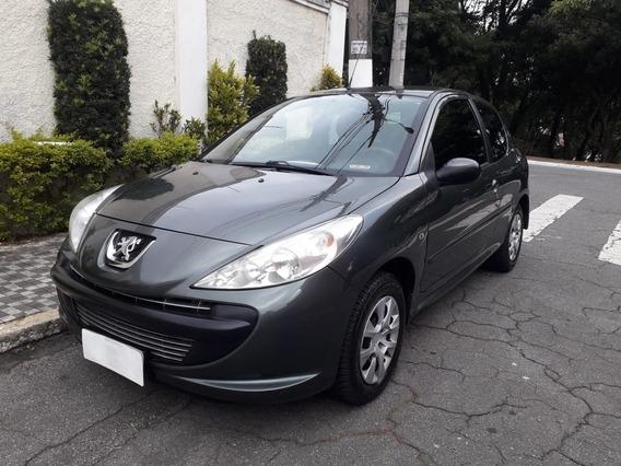 Peugeot 207 2011 Xr 1.4 Flex Completo Cinza