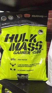 Proteína Hullk Mass Gainer 12 Lb Para Aumentar Masa Muscular