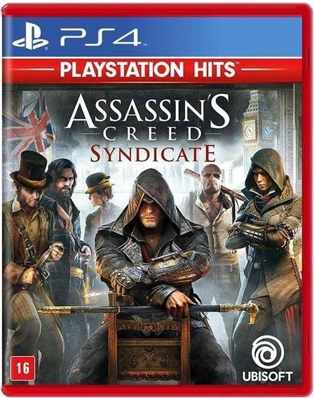 Assassins Creed Syndicate Ps4 Mídia Física Novo Original
