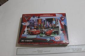 = Quebra Cabeca Jak Carros 2 3d Vision 100 Pe;as Lacrado