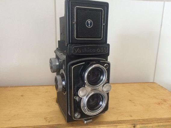 Câmera Fotográfica Yashica 635 Antiga - Coleção