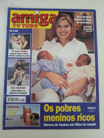 Amiga 1405 Debora Bloch Eliana Elza Soares Xuxa Ney Matogros