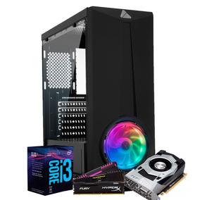 Pc Gamer Itx Arena Setup Intel I3 8100 (gtx 1050ti) 8gb /1tb