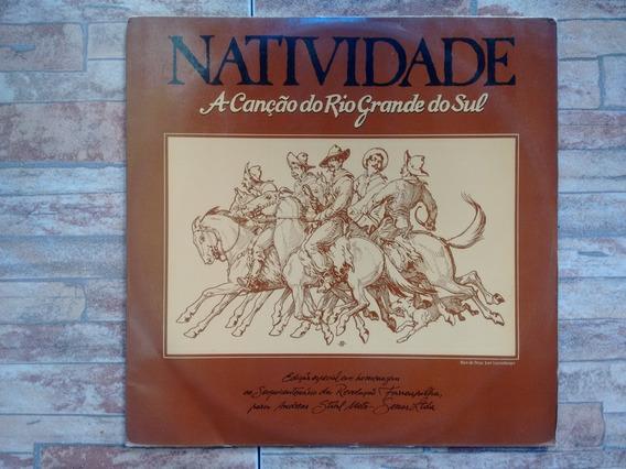 Natividade - A Canção Do Rio Grande Do Sul (lp C/ Encarte)