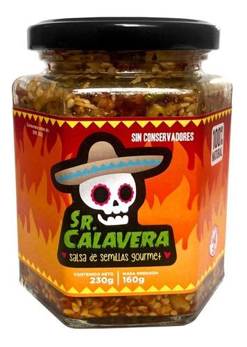 Salsa Gourmet De Semillas Sr Calavera 230g Picor Alto