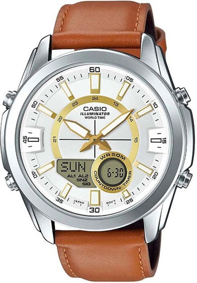 Relógio Casio Masculino Standard Digi/ana Amw-810l-5avdf