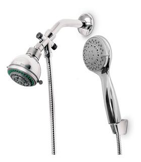 Kit Completo Ducha Duchador Premium Flexible 2 Metros 9005cb Aquaflex