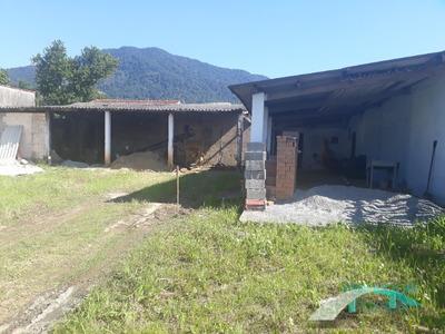 Terreno Com Barracão Para Locação - R$ 800,00 - Jd. Veneza- Peruíbe/sp - Te00127 - 33879061