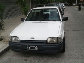 Ford Escort 1.6 Gl Blanco