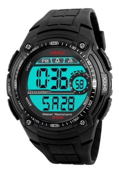 Relógio Masculino Led Digital Esportivo Numérico Cronômetro