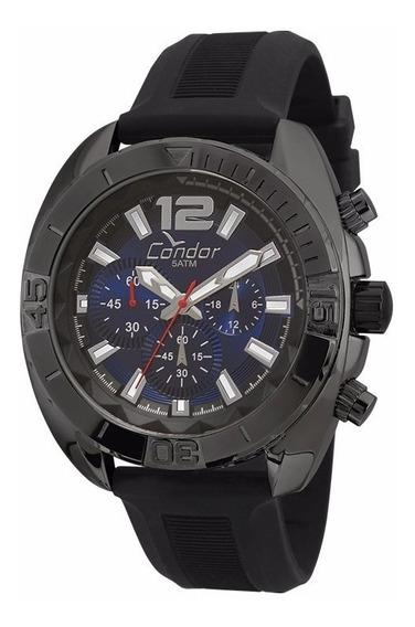 Relógio Condor Masculino Cronógrafo Covd54ap/8a Preto Barato