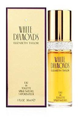 Perfume En Spray Diamantes Blancos De Elizabeth Taylor, Para