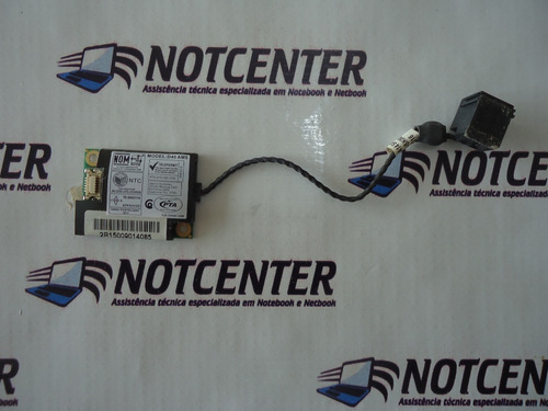 Imagem 1 de 2 de Fax Modem Notebook Cce Win Bps Envio Por Carta