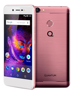 Smartphone Quantum You E 32gb 3gb Ram Biometria 13mp Rosa Nf