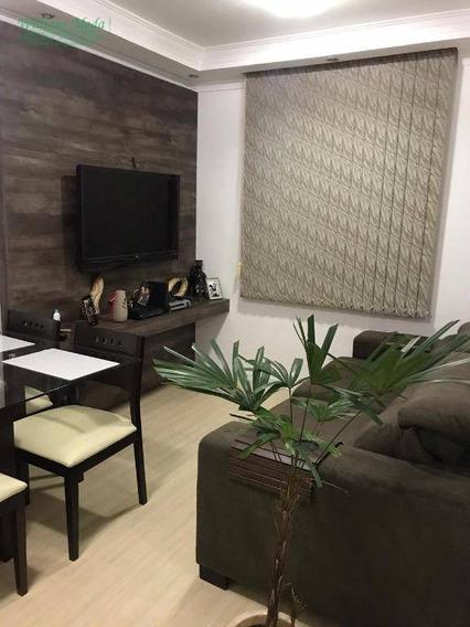 Apartamento Com 2 Dormitórios À Venda, 45 M² Por R$ 245.000 - Ponte Grande - Guarulhos/sp - Ap2716
