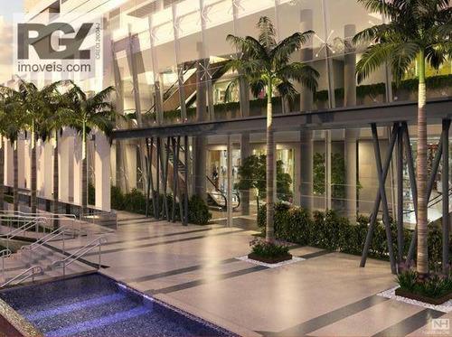 Loja Em Santos The Blue Office Mall, Excelente Investimento Rentável - Lo0001