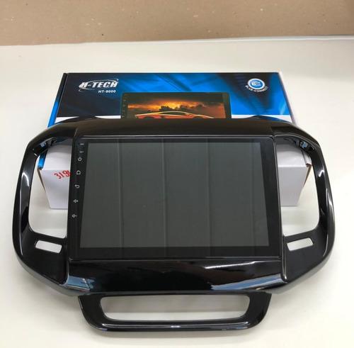 Imagem 1 de 5 de Multimídia Mp5 H-tech Ht-9000 9'' Fiat Toro + Câmera De Ré