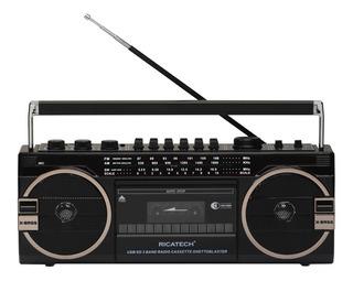 Radio Cassette Retro 220v Usb
