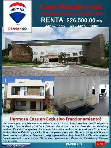 Hermosa Casa En Exclusivo Fraccionamiento..