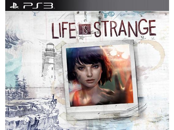 Life Is Strange Ps3 Midia Digital Psn Envio Ja Jogo Completo