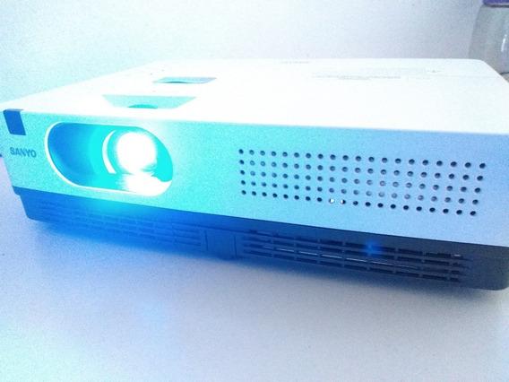 Projetor Sanyo Plc Xw200 - Controle E Conversor Hdmi