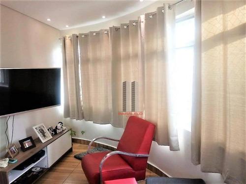 Apartamento Com 3 Dormitórios À Venda, 103 M² Por R$ 480.000,00 - Mooca - São Paulo/sp - Ap1638