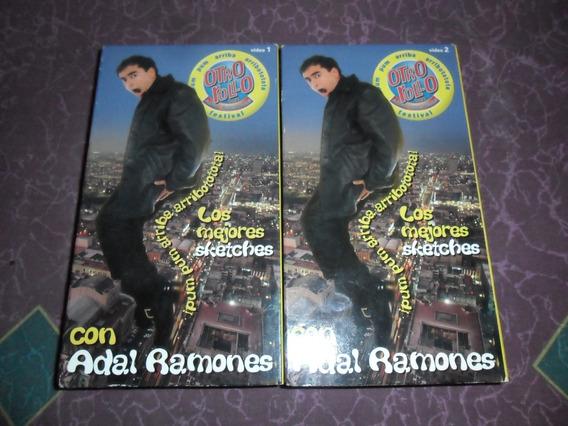 Adal Ramones Otro Rollo Sketches 2 Vhs Vol 1 Y 2 Año 1999