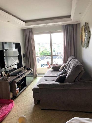 Apartamento Com 3 Dormitórios À Venda, 65 M² Por R$ 320.000,00 - Vila Ema - São Paulo/sp - Ap2684