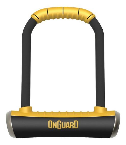 Candado Bicicleta Onguard Pitbull 8006 M Tipo U Lock + Guaya