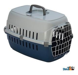 Transportadora Con Puerta De Metal Para Gato & Perro Chica