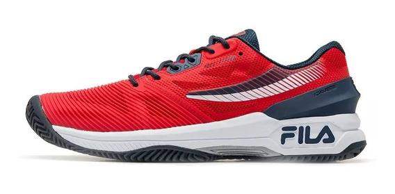 Zapatillas Tenis Padel Fila Ot Pro Clay Hombre - Olivos