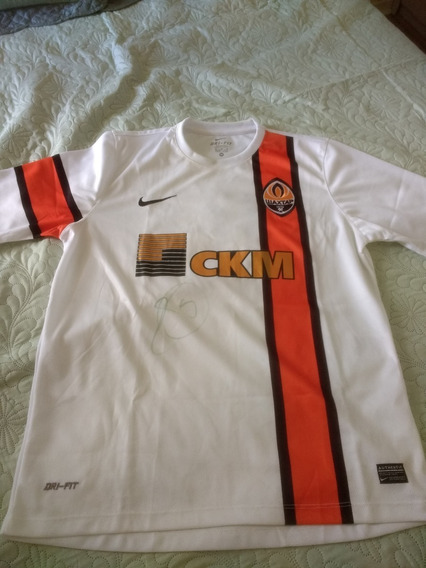 Camisa Shakhtar Donetsk - Autografada Luiz Adriano