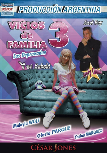 Imagen 1 de 2 de Dvd Original De Vicios De Familia 3-las Depravadas