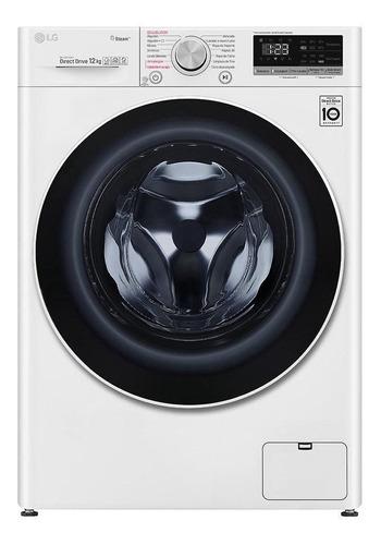Imagen 1 de 8 de Lavarropas automático LG WM12 inverter blanco 12kg 120V