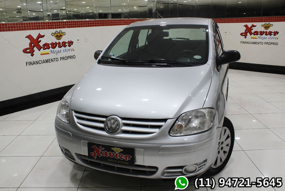 Vw Fox 1.6 Plus Flex Prata 2007 Financiamento Próprio 5649