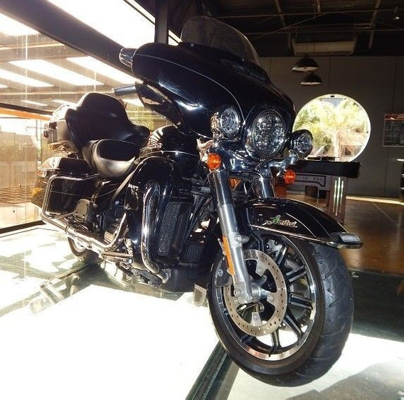 Harley-davidson Ultra Limited 2017 Preta