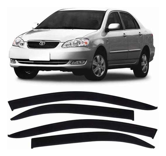 Calha De Chuva Defletor Corolla 2003 2004 2005 2006 2007