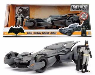 Batimovil Batman Vs Superman Con Batman Escala 1:24