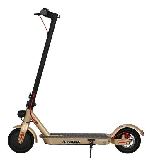 Scooter Patin Electrico Dorado Xion Sport
