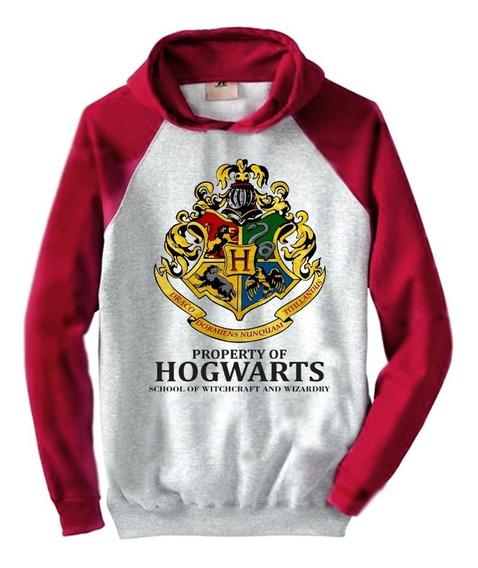 Buzo Hogwarts Harry Potter Unisex Combinado Hoodie