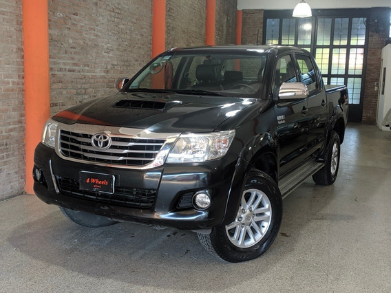 Toyota Hilux 3.0 Cd Srv Cuero 171cv 4x4 2013 Impecable Estad