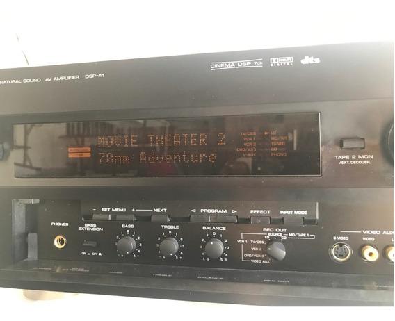 Yamaha Natural Sound Cinema Dsp-a1 Amplifier 7ch