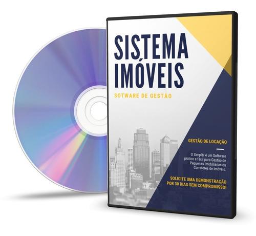 Imagem 1 de 6 de Sistema Imoveis Gestão Software Imoveis