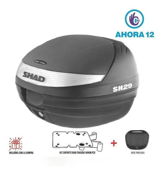 Baul Shad 29 Con Parrilla Trasera Honda Pcx