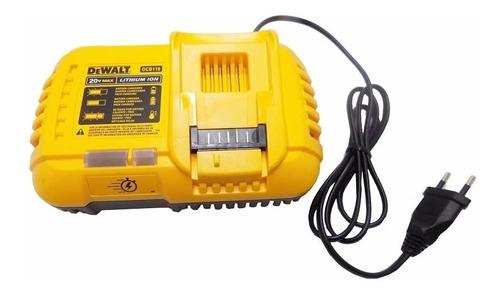 Carregador 220v Compatível 20/60v Max Flexvolt Dcb118 Dewalt