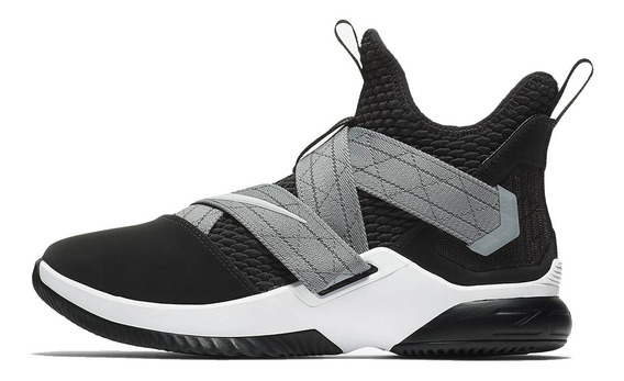 Tênis Nike Lebron Soldier 12 Black Grey Pronta Entrega.